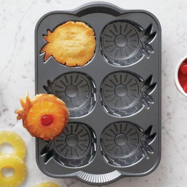 Pineapple Upside Down Mini Cake Pan - $24