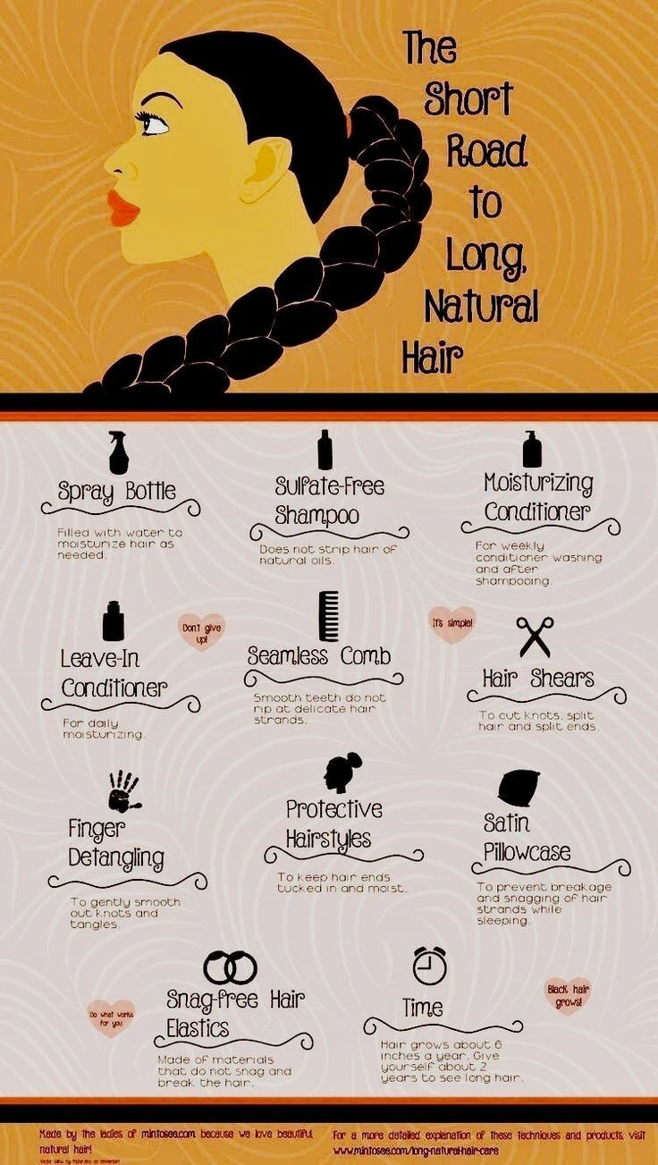 How to get long natural African American hair. These hair care tips will show y …