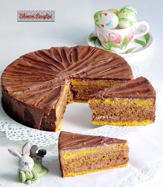 Bibimoni Receptjei: Csokoládés répatorta