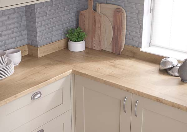 Natural Arlington Oak Kitchen Worktop For Light Amp Airy