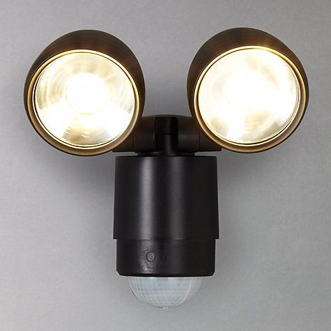 Buy Luxform Umbriel Twin PIR Sensor Security LED Outdoor Light from our  Wall Lighting range at John Lewis 20 best Exterior Lights images on Pinterest   Wall lights  Outdoor  . Exterior Pir Led Lights. Home Design Ideas