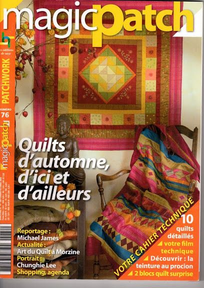51 best magic patch french language mag images on Pinterest ... : magic patch quilting - Adamdwight.com
