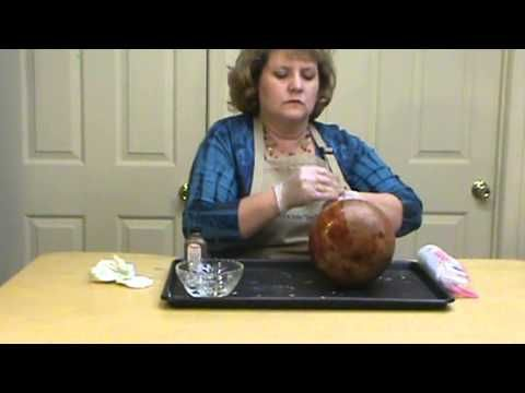 How to Apply Leather Dye to a Gourd by Miriam Joy
