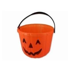 Halloween - Orange Pumpkin Bucket
