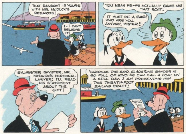 """Donald Duck """"Lost in the Andes"""" 