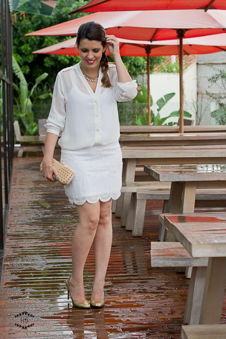 All white.