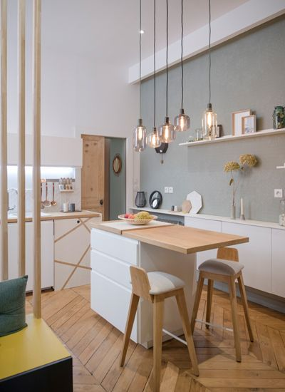 Idée n°4 : Minimalisme Une cuisine minimaliste.