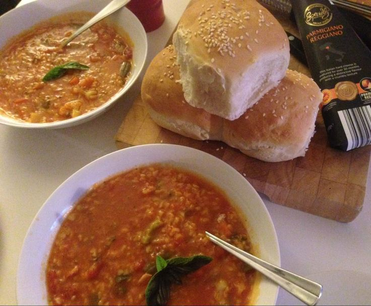 Recipe MINESTRONE by Ilka_THERMOmixer - Recipe of category Soups