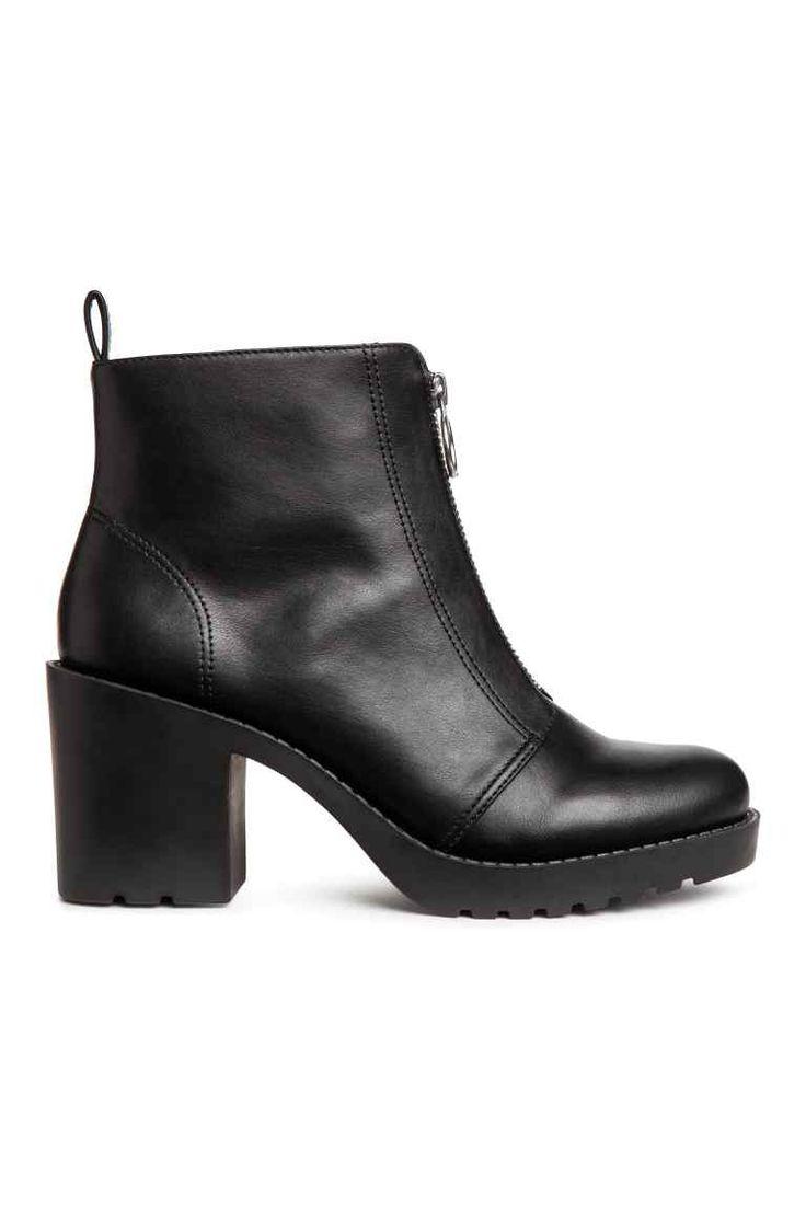 Kotníkové boty - Černá - ŽENY | H&M CZ 1