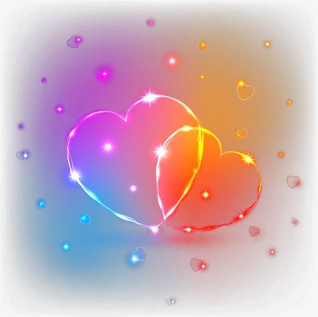 Glare Heart Wallpaper