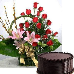 send online valentines day flowers and gifts to hyderabad send special valentines day flowers to