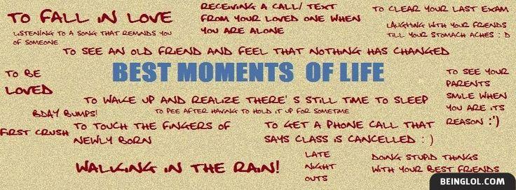 Best Moments Facebook Timeline Cover