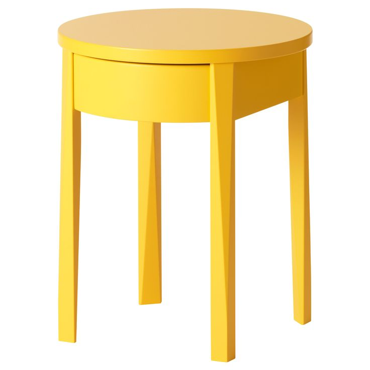 I wish this was gray or orange or aqua... Still might buy and paint... STOCKHOLM Nightstand - IKEA #IKEA #PinToWin