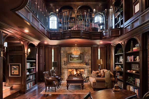 17 best images about front room ideas on pinterest house for House plans with 2 story library