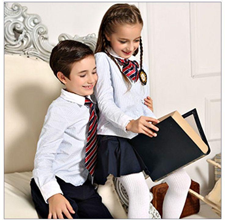 Camisa Y Chaqueta de la escuela Para Los Uniformes Escolares de La Muestra