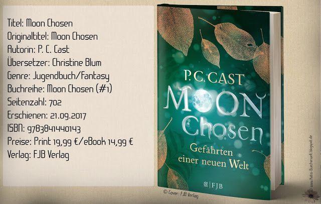 """""""Moon Chosen - Gefährten einer neuen Welt"""" von P.C. Cast entführte mich in eine faszinierende Welt voller Gefahren und der Magie des Mondes. Interessante Charaktere und eine spannende Handlung ließen mich mit Begeisterung mitfiebern. ~ dystopische Fantasywelt ~ bildgewaltiges Abenteuer ~ Pageturner ~ Eine absolute Leseempfehlung mit Suchtpotenzial auf allen Ebenen"""