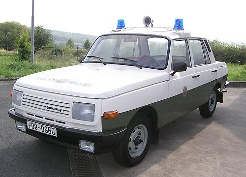 Wartburg 353, 1986 East Germany