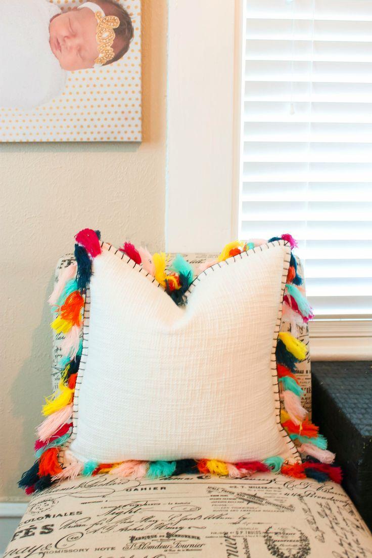 Tassel pillow from Target $24.99