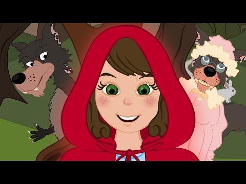 Le petit chaperon rouge - dessin animé en français - conte pour enfants - YouTube