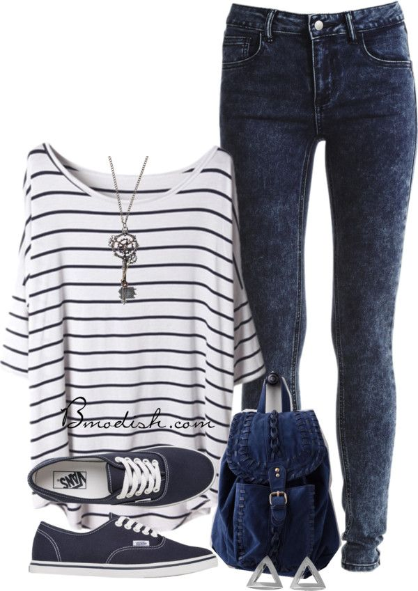 Teen back to school outfit idea