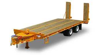 Flatbed Trailers - Heavy Equipment http://www.kaufmantrailers.com/flatbed-trailers/heavy-equipment-flatbed-trailer/