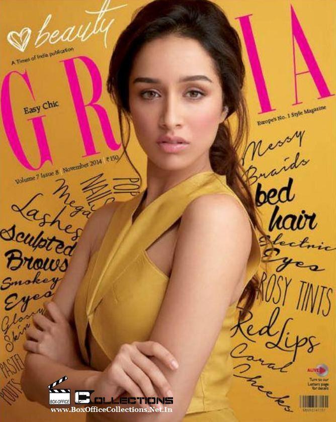 Gorgeous Shraddha Kapoor Sizzling on the Cover of Grazia Magazine November 2014 Issue_1
