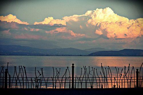 Lake Pamvotida, Ioannina (Greece) - September 2012