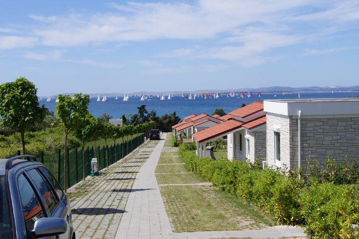 JA - Sie haben den idealen Standort für den Urlaub mit Ihrem Liebling in Kroatien (direkt am Meer) gefunden. Nur weniger als 1 km von der Infrastruktur des Ortszentrum von Pakostane entfernt aber weit genug, um ein paar Freiheiten zu haben: Auslauf, Baden mit dem Vierbeiner im Meer & im nahegelegen…