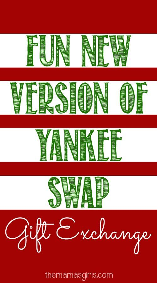Fun New Version of Yankee Swap - Fun New Version Of Yankee Swap Pinterest Christmas Gift Exchange
