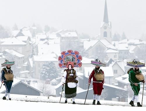 Silvesterchlausen Canton of Appenzel