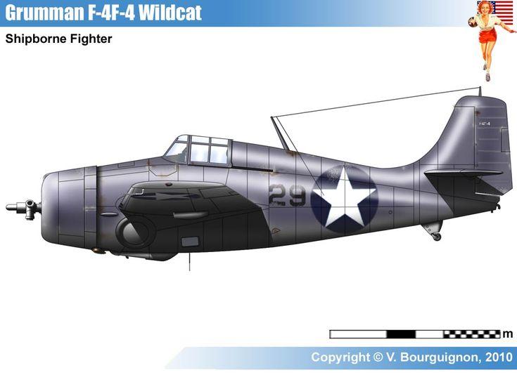 Cf Ef D A C on Grumman F4f Wildcat Paint