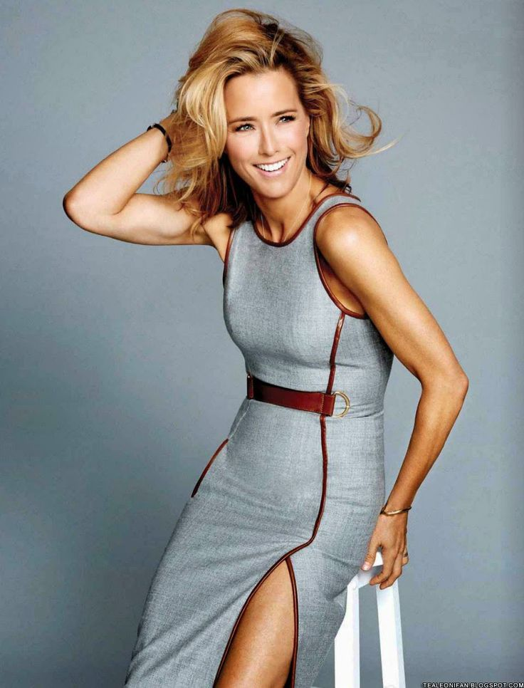 Tea Leoni - Yes she's 49. Yes she's absolutely stunning.