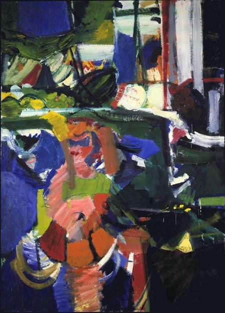 "Grace Hartigan / ""Summer Street / 1956 / Corcoran Gallery of Art"