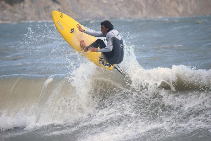 surf al molo Portonovo