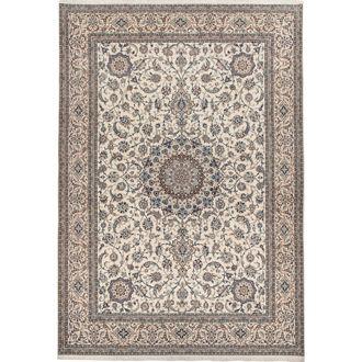 Nain Medaillon zijden tapijt | MARCJANSSEN