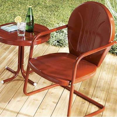 74 Best Images About Vintage Metal Lawn Chair LOVE On Pinterest