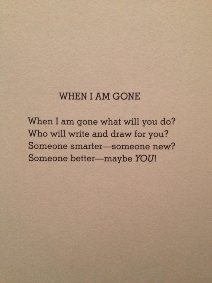155 Best Shel Silverstein Poems Images On Pinterest Shel