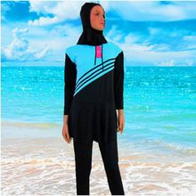 Swimsuit Muslim Swimwear For Women 2017 Islamic Muslim Woman Beach Size L~5XL