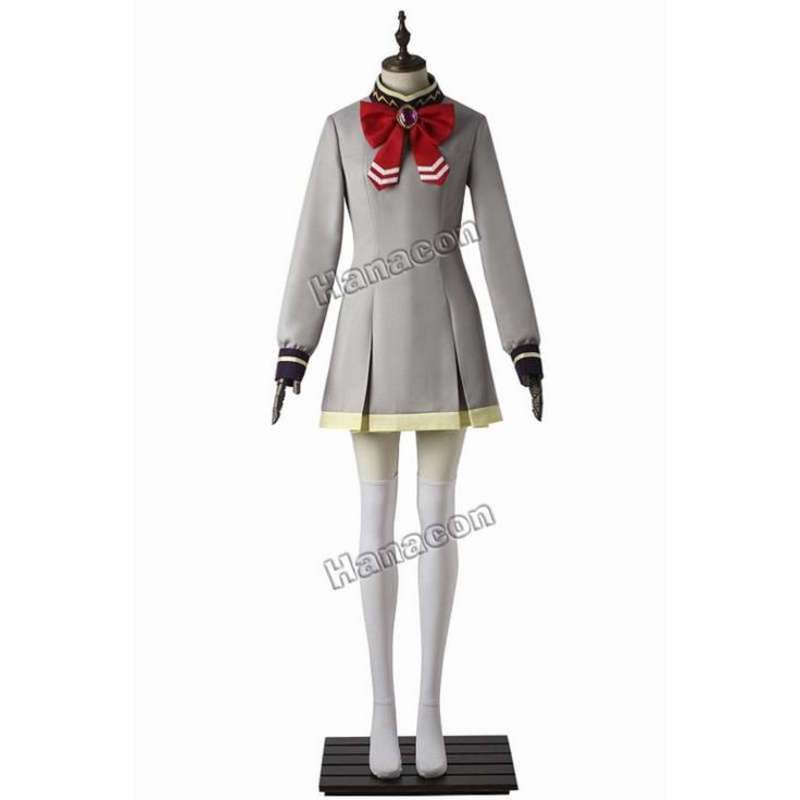 Twin Star Exorcists Cosplay Costume Mayura Otomi Dress Cosplay Girl's School Uniform Costume Outfit Halloween Custome Any Size #Affiliate