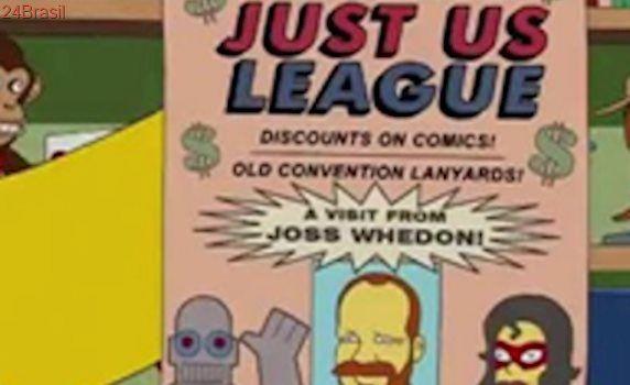 'Os Simpsons' teve previsão que Joss Whedon iria assumir 'Liga da Justiça'!
