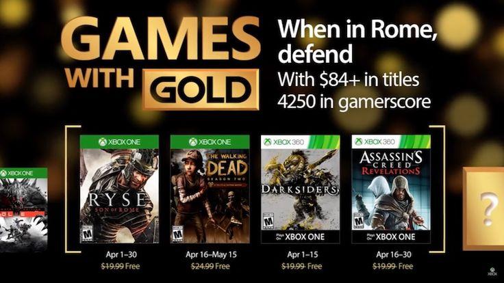 Jocurile Gratuite ale lunii Aprilie pentru Xbox One și Xbox 360 cu Xbox Live Gold