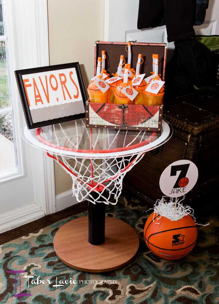 Basketball birthday party article with ideas