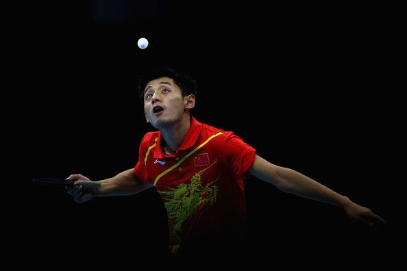 Zhang Jike in Olympics Day 10 - Table Tennis