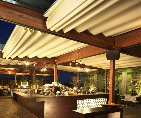 Corradi Outdoor Living Space Z Awnings Pergola Shade