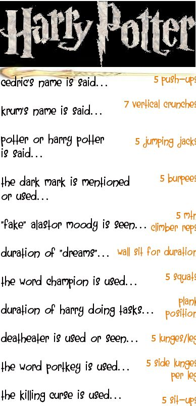 a Harry Potter Workout | Sisters, What!