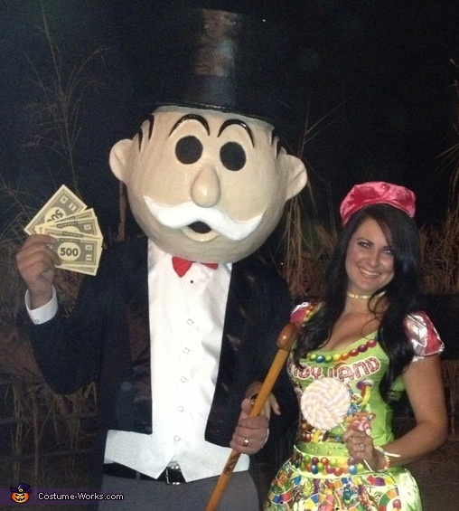 Mr monopoly adult costume