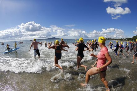State New Zealand Ocean Swim Series - King of the Bays - Saturday 12th April 2014.
