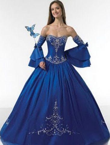 Renaissance style quinceanera dresses