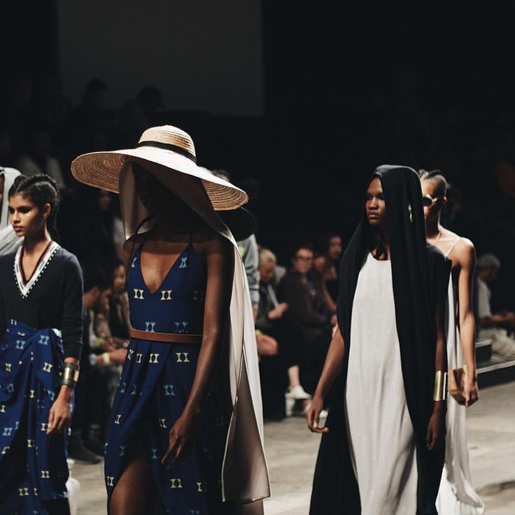 """(@theminimaleblogger) on Instagram: """"Mille Collines AW17 at Cape Town Fashion Week""""  Image by Rebecca Arendse"""