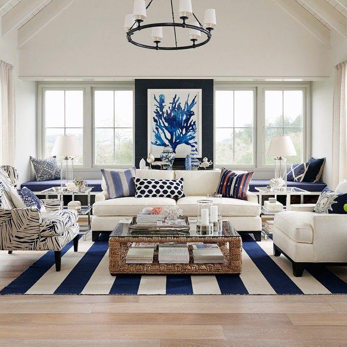 Hamptons Elegance in Navy (via Bloglovin.com )